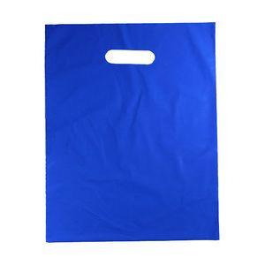 Bright Blue, Medium Gloss Heavy Duty Merchandise Bags