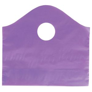 """Purple Grape, Super Wave Frosted Bags, 12"""" x 11"""" + 4"""""""