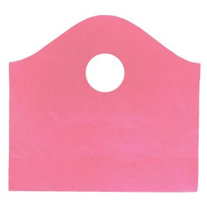 """Sizzling Pink, Super Wave Frosted Bags, 12"""" x 11"""" + 4"""""""