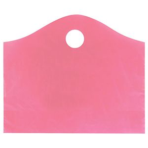 """Sizzling Pink, Super Wave Frosted Bags, 18"""" x 15"""" + 6"""""""