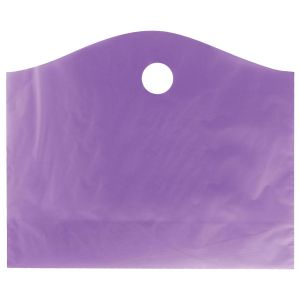 """Purple Grape, Super Wave Frosted Bags, 22"""" x 18"""" + 8"""""""