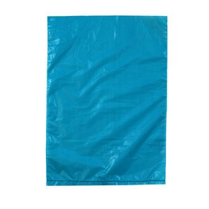 "Teal, Plastic Merchandise Bags, 6.5"" x 9.5"""