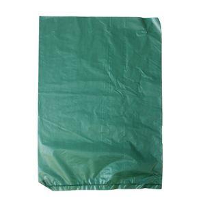 """Dark Green, Plastic Merchandise Bags, 6.5"""" x 9.5"""""""
