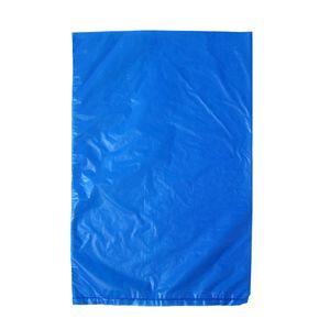 "Dark Blue, Plastic Merchandise Bags, 6.5"" x 9.5"""