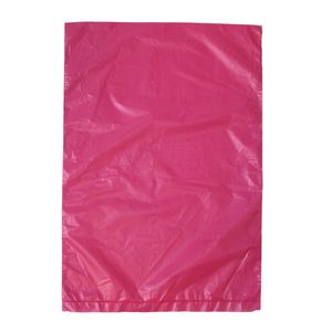 "Magenta, Plastic Merchandise Bags, 6.5"" x 9.5"""