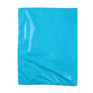 "Teal, Plastic Merchandise Bags, 8.5"" x 11"""