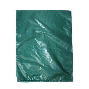 """Dark Green, Plastic Merchandise Bags, 8.5"""" x 11"""""""