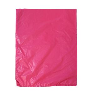 "Magenta, Plastic Merchandise Bags, 8.5"" x 11"""