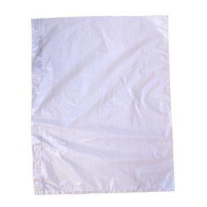 "White, Plastic Merchandise Bags, 12"" x 15"""
