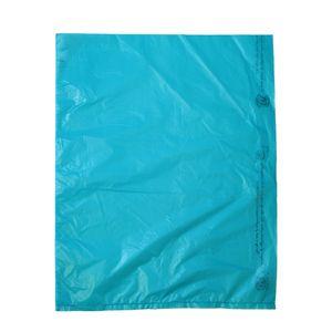"Teal, Plastic Merchandise Bags, 12"" x 15"""