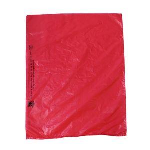 "Red, Plastic Merchandise Bags, 12"" x 15"""