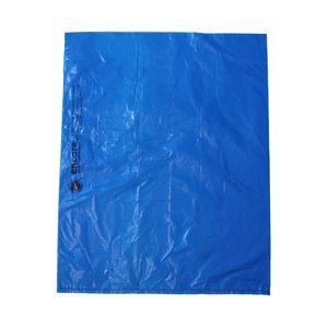 "Dark Blue, Plastic Merchandise Bags, 12"" x 15"""