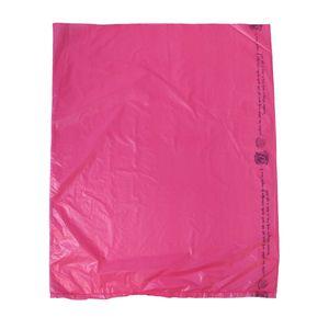 "Magenta, Plastic Merchandise Bags, 12"" x 15"""