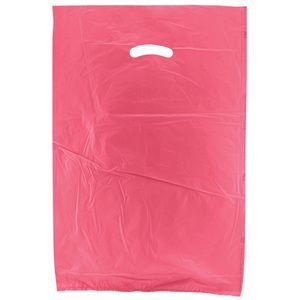 "Magenta, Plastic Merchandise Bags, 16"" x 4"" x 24"""