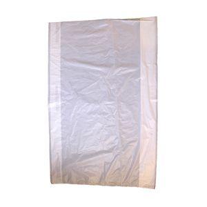 "White, Plastic Merchandise Bags, 20"" x 4"" x 30"""