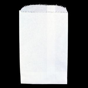"White Paper Merchandise Bags, 4"" x 6"""