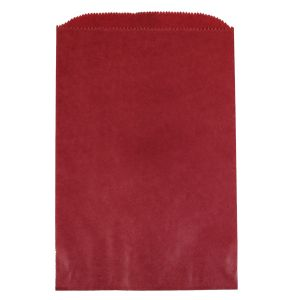 """Red, Paper Merchandise Bags, 6-1/4"""" x 9-1/4"""""""