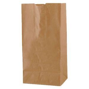 Fast Food Bag, Natural Kraft