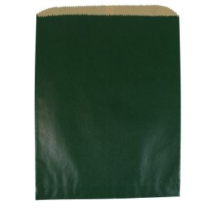 """Forest Green, Paper Merchandise Bags, 8-1/2"""" x 11"""""""