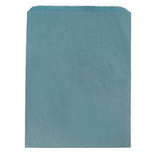 "Sky Blue, Paper Merchandise Bags, 8.5"" x 11"""