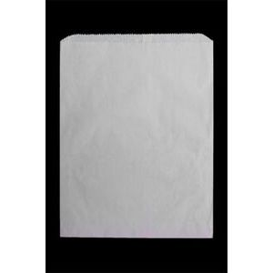 "White Paper Merchandise Bags, 10"" x 13"""