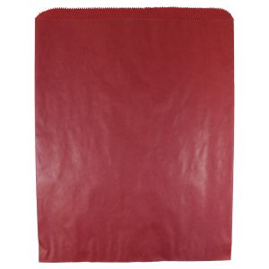 """Red, Paper Merchandise Bags, 12"""" x 15"""""""