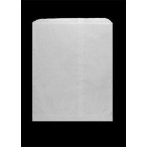 "White Paper Merchandise Bags, 12"" x 15"""
