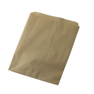 """Natural Kraft Recycled Paper Merchandise Bags, 12"""" x 15"""""""