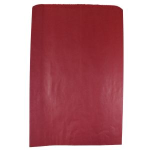 """Red, Paper Merchandise Bags, 12"""" x 2-3/4"""" x 18"""""""