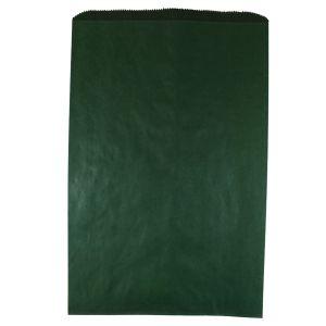 "Forest Green, Paper Merchandise Bags, 12"" x 2-3/4"" x 18"""