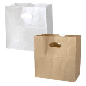 """Takeout Bags, 11""""L x 6""""W x 11""""H"""