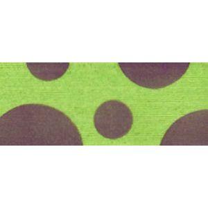Lime/Grape, Dots Curling Ribbon