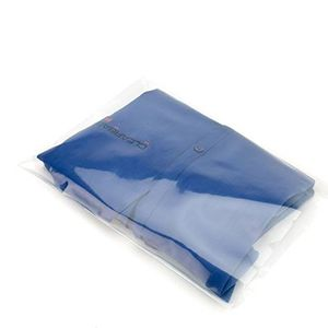"Clear Flat 1.5 Mil Poly Bags, 8"" x 12"""