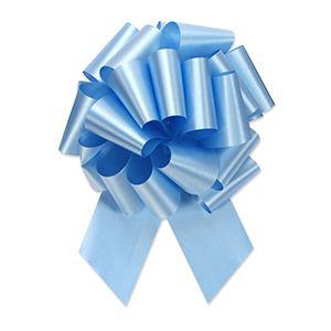 Light Blue, Flora Satin Perfect Bows