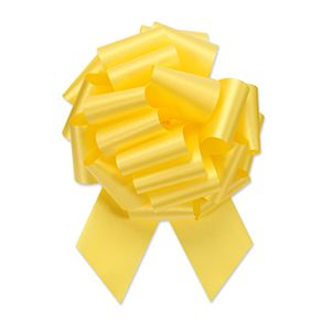 Yellow, Flora Satin Perfect Bows