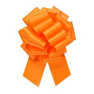 Tropical Orange, Flora Satin Perfect Bows