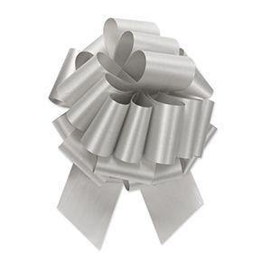 Silver, Flora Satin Perfect Bows