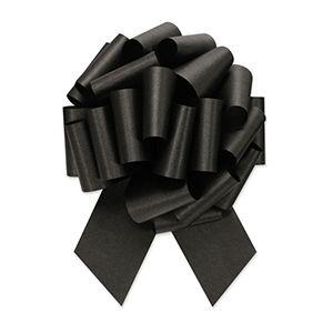 Black, Flora Satin Perfect Bows