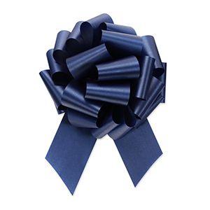 Navy, Flora Satin Perfect Bows