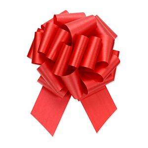 Imperial Red, Flora Satin Perfect Bows
