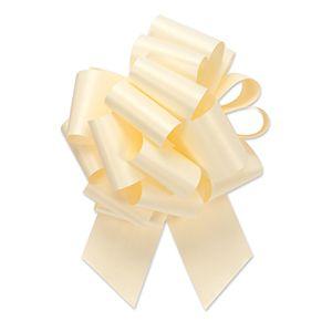 Ivory, Flora Satin Perfect Bows