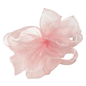 Light Pink, Simply Sheer Asiana Fabric Ribbon