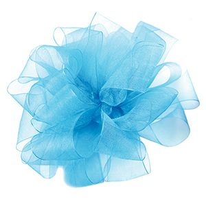 Robin's Egg Blue, Simply Sheer Asiana Fabric Ribbon