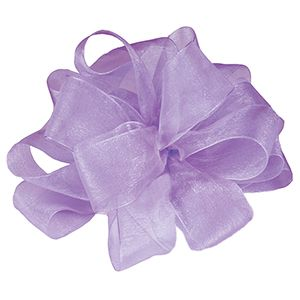 Orchid, Simply Sheer Asiana Fabric Ribbon