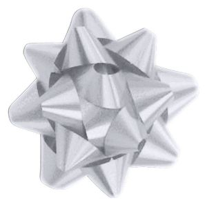 Silver, Star Bows