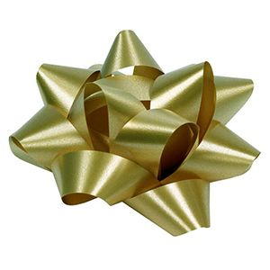Gold, Star Bows