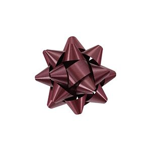Burgundy, Star Bows