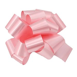 Pink, Pull Out Pre-Notch Bows
