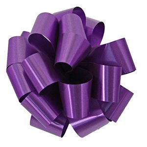 Purple, Pull Out Pre-Notch Bows