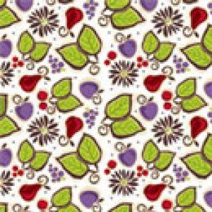 Fresh Fruit Pattern, Food Service Tissue Paper